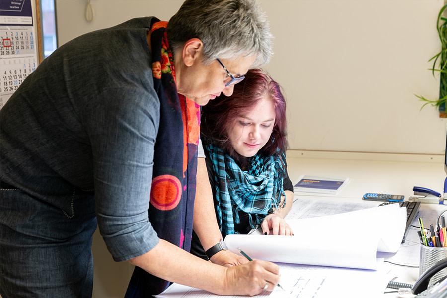EMU Architekt Ahlen Leistungen Büro 3