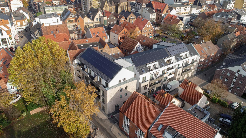 Wohn- und Geschäftsgebäude, Südstr., Ahlen - Mehrfamilienhaus, Nichtwohngebäude, Passivhaus